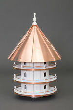 12 Hole Bird House COPPER  3 foot Tall  36 x 21 Martin house Amish Made in USA