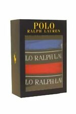 Mens Polo Ralph Lauren Classic Stretch Cotton Slip Brief Blue Red Navy 3 Pack M