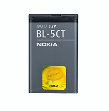 New 1050mAh BL-5CT Battery for Nokia 5220 6303 Classic C5 C6-01 BL5CT #471