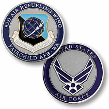U.S. Air Force / 92nd Air Refueling Wing, Fairchild AFB, WA - Challenge Coin