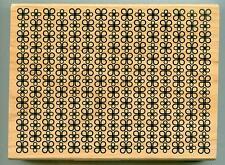 INKADINKADO rubber stamp FLOWER BACKGROUND X-Large, wood mounted