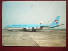 POSTCARD KOREAN AIR CARGO BOEING 707-321C