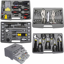 99 pc Garage Tool Mechanic Kit Set Shop Vehicle Repair Wrench Workshop Hardware