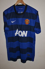 MANCHESTER UNITED ENGLAND 2011/2012 AWAY FOOTBALL SHIRT JERSEY NIKE