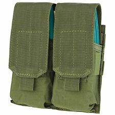 Condor OD Green MOLLE PALS MA4 Double 4x 5.56 .223 Rifle Magazine Flap Pouch