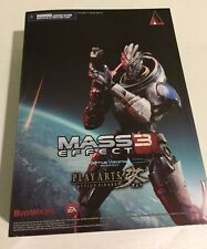 Mass Effect 3 Garrus Vakarian Action Figure - New! Play Arts KAI Square Enix NIB