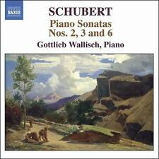 Schubert: Piano Sonatas Nos. 2, 3 & 6, New Music