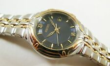 Seiko Two-Tone Stainless Steel 7N82-0BD8 Sample Watch NON-WORKING