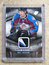 11-12 UD SPx Base #76 Patch Parallel MATT DUCHENE /15