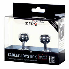 Zero Any Touch Screen Device Mobile Phone Game Tablet Joystick New - Twin Pack