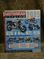 Motorrad Katalog Nr. 36 2005