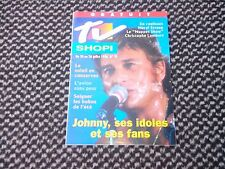 """Johnny Hallyday """"TV Shopi""""  n°29 Juillet 1996"""