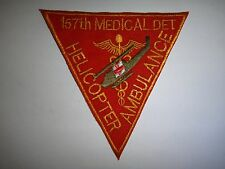 US 157th Medical Detachment Helicopter Ambulance DUSTOFF Patch