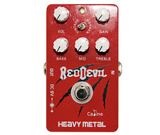 "Caline CP-30 ""Red Devil"" Heavy Metal Effects Pedal"