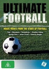 ULTIMATE FOOTBALL - MAGIC MOVES FROM THE STAR OF FOOTBALL BRAND NEW SEALED DVD