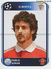 N°099 PABLO AIMAR # ARGENTINA BENFICA UEFA CHAMPIONS LEAGUE 2011 STICKER PANINI