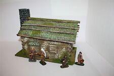 Old West, Cowboy, Blockhaus, 1640 zu 7cm, Wild West u.a., GMKT World of Diorama