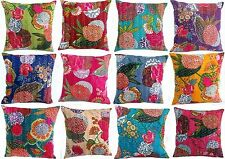 5pcs hand made fruit print cotton fabric kantha cushion cover wholesale pillow