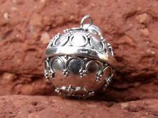 FREEU.K  P&P HANDCRAFTED BALINESE SILVER HARMONY/CHIME BALL ANGEL CALLER
