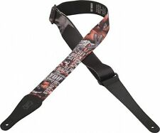 "Levy's MPL2-11 2"" Poly Guitar Strap Beatles Letras De Canciones"