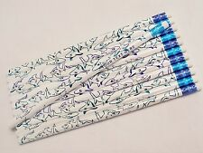 """24  """"Happy Sharks""""  Personalized Pencils"""