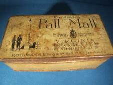VINTAGE ROTHMANS PALL MALL VIRGINIA STRIAGHT CUT CIGARETTE TIN FREEPOST UK