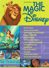 Klavier Noten : The Magic of DISNEY   leicht (Big-Note Piano)