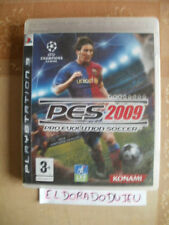 ELDORADODUJEU     PES 2009 Pour PLAYSTATION 3 PS3 VF CD COMME NEUF