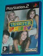 Twenty 2 Party - Sony Playstation 2 PS2 - PAL