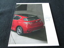 2016 Lexus CT Brochure CT200h CTh & CT F Sport US Sales Catalog