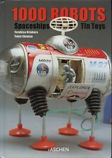 1,000 Tin Toy Robots Spaceships Characters - Types Makers Dates / Scarce Book