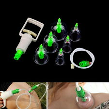 Chinese Body Cupping Massage Set Acupuncture Medical Vacuum Stress Relief AO