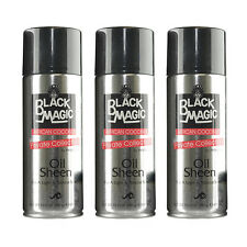 3Pc Black Magic by Isoplus African Coconut Oil Sheen Hair Spray 10.5oz #8012