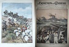 Domenica del corriere 1912-15 LE NOSTRE NAVI PERLUSTRAZIONO I MARI D'ORIENTE