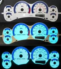 KPH 1998-2003 GMC Sonoma Chevrolet S10 & Blazer MT Stick White Face Glow Gauges