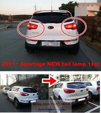 For 2011 ~ 2015 KIA SPORTAGE NEW UPGRADE Rear tail light lamp Genuine 1SET