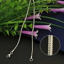 "STAINLESS STEEL 20"" SNAKE CHAIN NECKLACE REALLY NICE!"