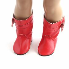 2017 CUTE gift fashion new boot shoes for 18inch American girl doll party b587