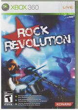 ROCK REVOLUTION (Xbox 360, 2008)  INCLUDES INSTRUCTIONS
