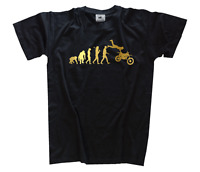 GOLD Edition Supercross II Motocross Enduro Motorcycle Evolution T-Shirt S-XXXL