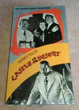 Castle in the Desert VHS Charlie Chan Sidney Toler 1942 Play Tested Mystery