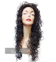 Motown Tress Full Long Curly Synthetic Angela Wig