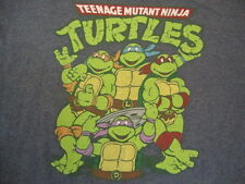 Teenage Mutant Ninja Turtles TMNT 90's Cartoon Blue T Shirt XL