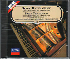 DECCA Jorge Bolet - Rachmaninov Concierto 2 - Chaikovski Concierto 1 - CD SEALED