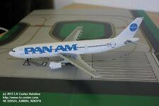 Herpa Wings Pan Am Airbus A300B4 in Billboard Color Plastic Model in 1:200