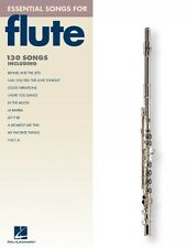 Essential Songs for Flute Instrumental Folio Book NEW 000842270