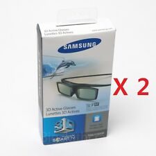 2x lot New Samsung SSG-5150GB 3D Active Glasses Shutter Glasses Battery