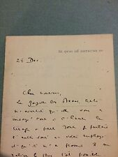 Raymond Koechlin journaliste politique collectionneur art lettre autographe