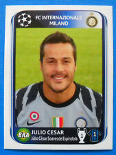 FIGURINA PANINI CHAMPIONS LEAGUE 2010-2011 - N.6 - JULIO CESAR - INTER
