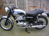 Kawasaki   W650 Seat   - Cafe Racer Style -New .Also available for the W800